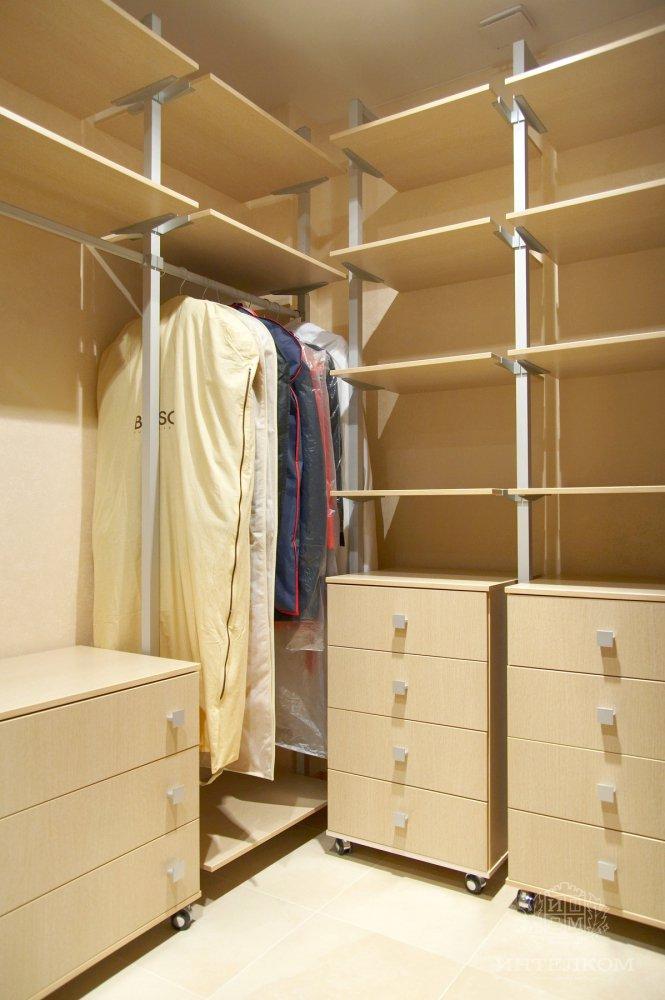 Сборка гардеробной своими руками 1